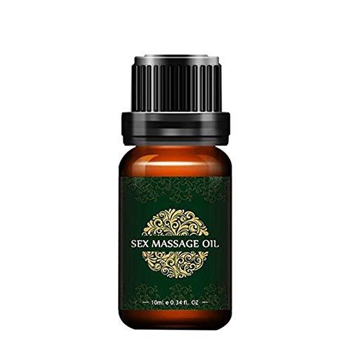 10 ml 100% natürliche und milde Inhaltsstoffe für Sexualmassageöl, nicht reizendes Massageöl für den männlichen Penis, ätherisches Öl für die braune Schwellung für Männer mit verzögerter Pflege