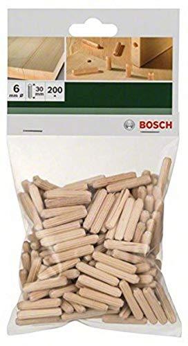 Bosch Dübel (200 Stück, Ø 6 mm)