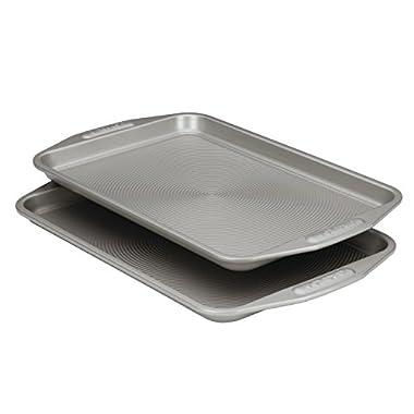 Circulon Nonstick Bakeware 10-Inch-by-15-Inch Cookie Baking Pan, 2-Piece Set