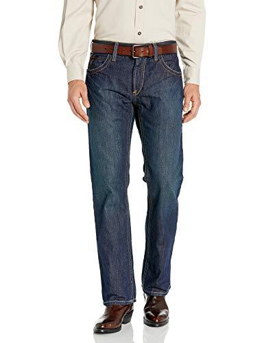 Ariat Men's Flame Resistant M5 Slim Fit Straight Leg Jean, Shale, 32W x 32L