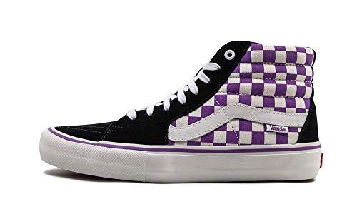 Vans Kids Classic Slip-on - Zapatillas deportivas unisex para bebé, Multicolor (Multicolore Scacchiera Nero Dewberry), 6 Women/4.5 Men