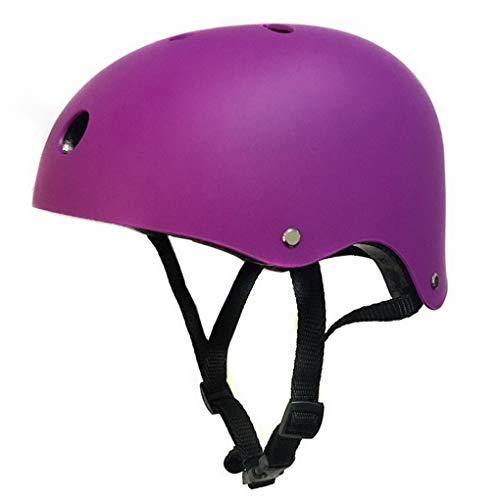 ACMEDE Kinder Junge Mädchen Fahrradhelm/Skaterhelm/Rollerhelm/Bike Sicherheit Helm/Skateboarder Helm für Radfahrer Skateboard Scooter Bike