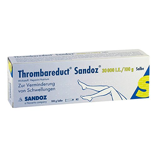 THROMBAREDUCT Sandoz 30.000 I.E. Salbe 100 g