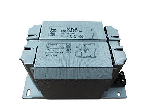 Vorschaltgerät VVG BSN400 für Natriumdampflampen wie SON und NAV 400 Watt 400W