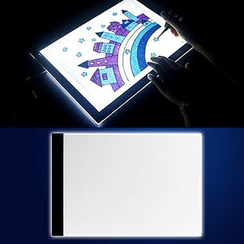 Zadaro A4 LED Mesa Mall Tracing Light Box thin Table Pad w Power USB 40% OFF Cheap Sale