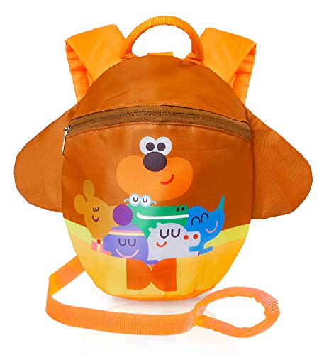 Hey Duggee Kids Reins with Backpack | Backpack with Reins for Toddlers, Boys, Girls with Safety Harness | Children Rucksack with Reins for Preschool, Nursery | Kids Bag with Leash