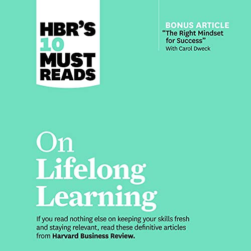 HBR's 10 Must Reads on Lifelong Learning cover art