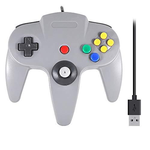 QUMOX Manette CONTRÔLEUR USB pour Nintendo 64 N64 Neuve Controller Gamepad Joystick