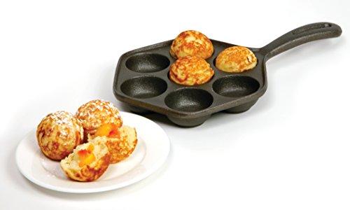 Norpro Cast Iron Stuffed Pancake Pan