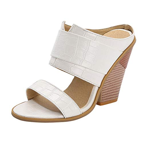 Review Of Kenvina Womens Flat Open Toe Casual Wedges Shoes Thick Bottom Slipper Slip On Roman Sandal...