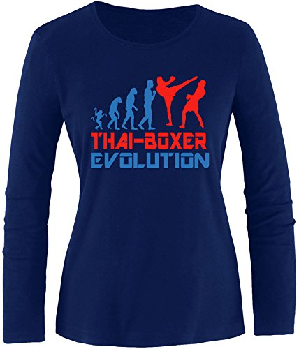 EZYshirt® Thai Boxing Evolution Damen Longsleeve