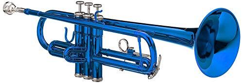 Cherrystone Bb Trompete mit Koffer und Zubehör in blau