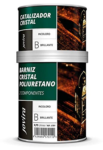 BARNIZ ASPECTO CRISTAL POLIURETANO 2 COMPONENTES BRILLANTE (