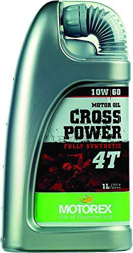 MOTOREX Aceite de motor Cross Power 4T 10W60 JASO MA2 API SL/SH/SG – 1 L