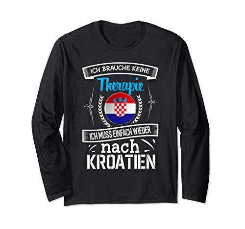 Kroatien Design Kroatien Urlaub Langarmshirt