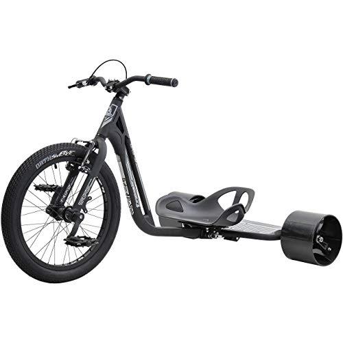 Triad Drift Trikes Underworld 3 - Bicicleta Infantil Unisex, Color Negro y Gris