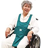 Wheelchair Restraint Harness Seat Belt for Elderly/Patients Safety Care Anti-Fall Vest Adjutstable Medical Restraints Strap for Disabled