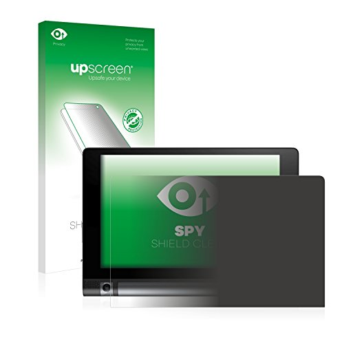 upscreen Protector Pantalla Privacidad Compatible con Lenovo Yoga Tab 3 850F 850M 850L Anti-Espia Privacy