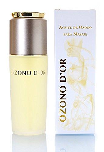 OZONO DOR. Aceite de Masaje Natural Ozonizado (100 ml). Compuestos por aceites de Girasol Ozonizado + Jojoba + Almendras. Cicatrizante, Antiinflamatorio, Oxigenante y Analgésico