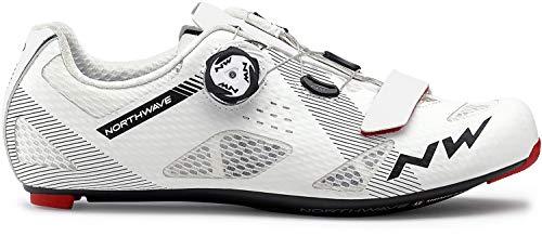 Northwave Storm Carbon Rennrad Fahrrad Schuhe weiß/schwarz 2020: Größe: 46