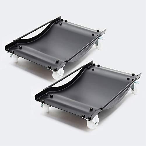 Multi Rangierhilfe PKW Transportschale 1 Paar Rangierroller Rangierheber Rangierbrett 450kg