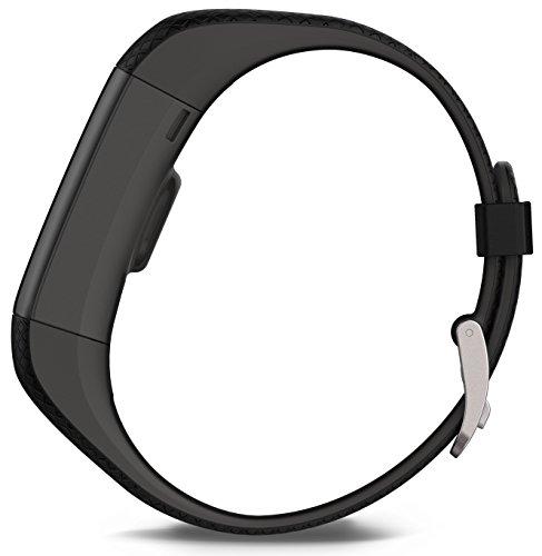 Garmin vívosmart HR+ Fitness-Tracker – GPS-fähig, Herzfrequenzmessung am Handgelenk, Smart Notifications Black, M – L, 010-01955-30 - 5