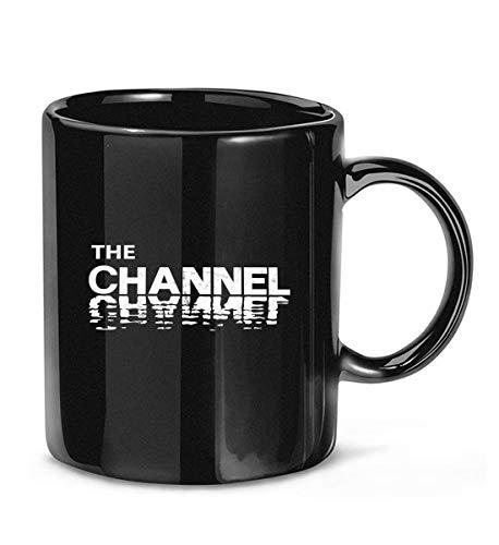 N\A The Channel - Boston, ma - Taza de café Blanca (Envejecida) para Mujeres y Hombres Tazas de té