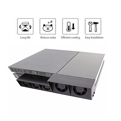 QUMOX PS4 Super Externe Ventilateur de...