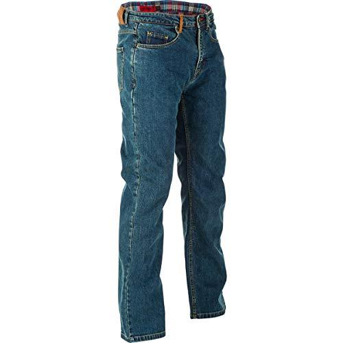 Highway 21 Defender Men's Street Motorcycle Pants - Oxford Blue / 38