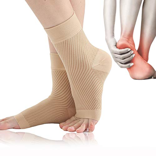 Kompressionssocken, Socken Plantarfasziitis, Fersensporn Bandage Fußbandage für Männer & Frauen, Fußbandagen, Knöchelbandage für Plantarfasziitis und Fersensporn, Schmerzlinderung in Füßen und Fersen