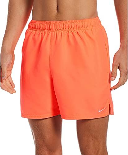 Nike 12,7 cm Volley-Shorts für Herren, Herren, Schwimm-Slips, NESSA560-821, rot (Bright Mango), L