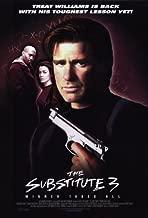 The Substitute 3 Poster Movie 11x17 Treat Williams David Jensen Barbara Jane Reams Brian Simpson