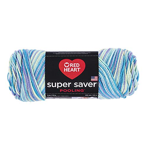 RED HEART Super Saver Yarn, Pooling - Stillwater