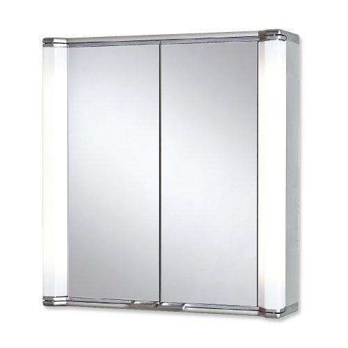 Jokey Spiegelschrank Alustar 70 aluminium