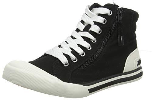 Rocket Dog Damen Jazzin High Sneaker, Schwarz (Black A00), 39 EU