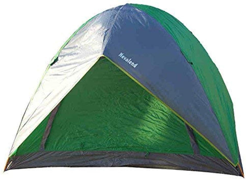 JFFFFWI Eine dreikpfige Familie Zelt mit einem Schlafzimmer Vier Jahreszeiten Einfach zu bauendes Doppelkonto DREI Zelte Camping