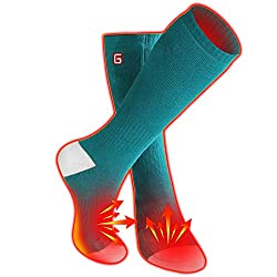 in budget affordable Men's and women's socks with electric heating, sets for heating batteries, hot underwear with embroidery …