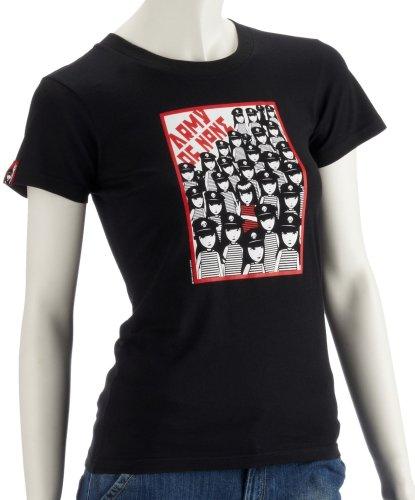 Emily The Strange S/S T-Shirt S/S T-Shirt Army of None Noir Noir Noir m