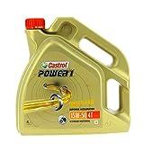 Castrol Power 1 Racing 4T 15W50, olio motore per motocicletta, flacone da 1 l