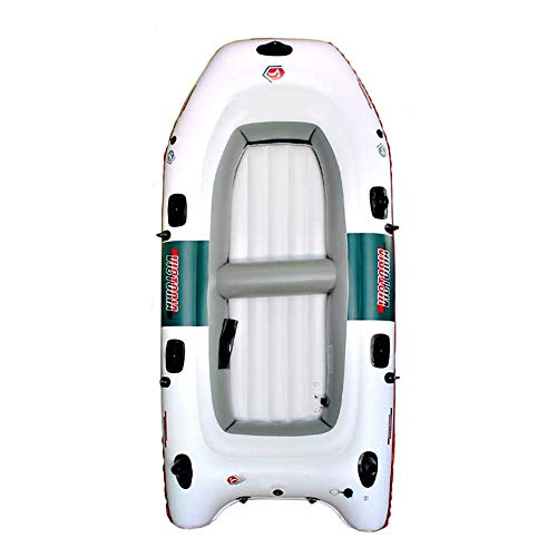 4 Personas inflable Stand Up Paddle Board con prima SUP accesorios y bolsa de transporte |Postura amplia, aleta inferior for remar, Surf Control, Cubierta antideslizante |Jóvenes y adultos que se colo