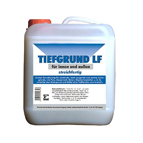 10 Liter Tiefgrund LF 40 Tiefengrund Hydrosol-Acrylat Grundierung für innen und außen, streichfertig