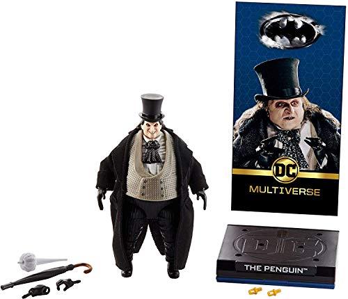 マテル DCコミックス マルチバース 6インチフィギュア シグネチャーコレクション ペンギン (バットマン リターンズ版) / MATTEL 2019 DC COMICS MULTIVERSE 6inch figure SIGNATURE COLLECTION THE PENGUIN (BATMAN RETURNS) DCコミックス アメコミ 映画 ダニー・デヴィート ティム・バートン [並行輸入品]