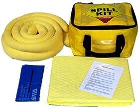 Sac Chaussettes dune paire de gants jetables et sac de transport 10/Ltr chimique kit de flaque avec coussinets par Inadvertance