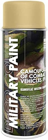1 Stück 400ml Militär Army Militärlack Lackspray Nato Farbe Wählbar Beige Ral 1001 Baumarkt