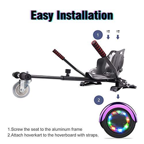 Hoverboard GeekMe Elektro Scooter Self Bild 3*