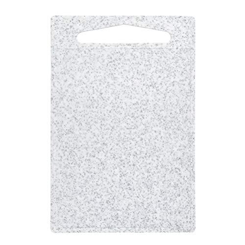 DODUOS Schneidebrett Kunststoff rutschfest und Antibakteriell Schneidebrett Frühstücksbretter Hackbretter 25 x 37.5 cm