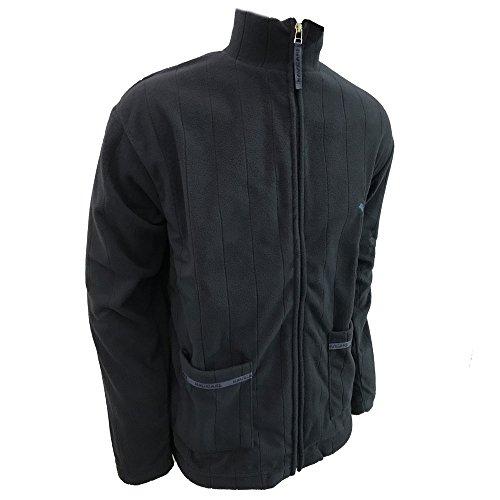 giacca da camera uomo full zip in pile NAVIGARE art. 14626 (blu, 46/S)