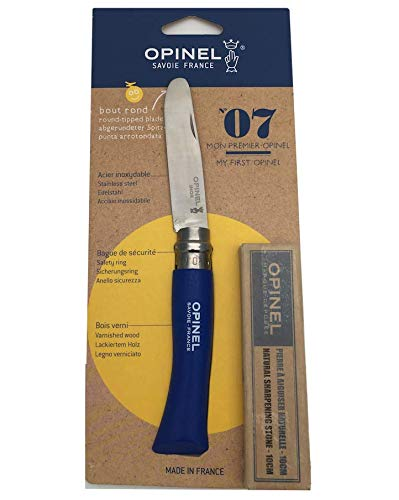 Opinel Kindermesser + Schärfstein (Wetzstein)