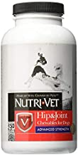 Nutri-Vet Advanced Strength Hip & Joint Chewable Dog Supplements|Formulated with Glucosamine & Chondroitin to Support Dog Cartilage & Mobility|150 Tablets
