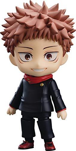 Good Smile Jujutsu Kaisen: Yuji Itadori Nendoroid Action Figure, Multicolor
